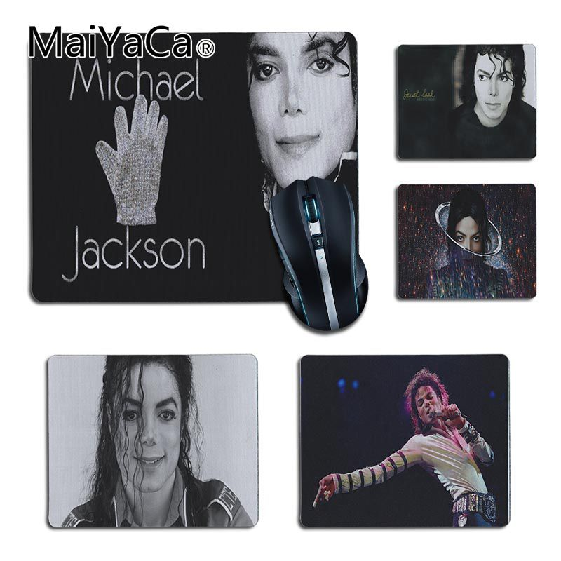 MaiYaCa In Stocked Michael Jackson Customized MousePads Computer Laptop Anime Mouse Mat for Dota2 CS Player gaming mouse pad