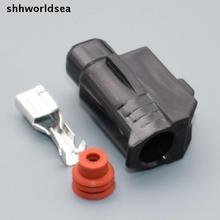 shhworldsea 1pin 4.8mm  for Toyota starter and motor plug connector 6189-0413