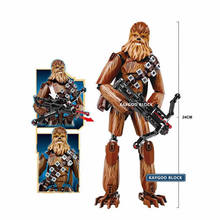 New Star Seri Space Wars 8 Last Jedi Big Large Chewbacca Movie Action Figure Building Block Set Brick Stormtrooper Kids Toy Gift(China)