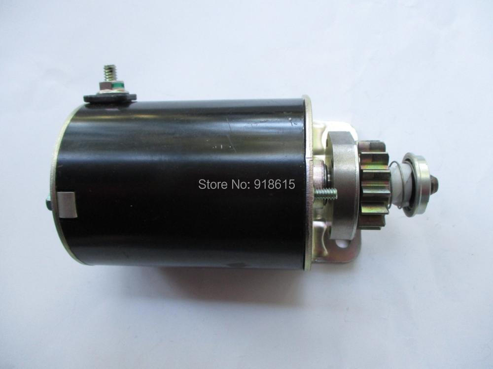 STARTER MOTOR 10.5HP BRIGGS AND STRATTON GASOLINE ENGINE SPARE PARTS 31hp 543477 briggs and stratton regulator gas engine parts