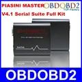 Высокая Недавно Черный PIASINI МАСТЕР Полной Версии V4.1 Мастер ЭКЮ Программист Серийный Номер (JTAG-BDM-K-line-L-line-RS232-CAN-BUS)