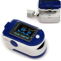 Free shipping CONTEC CMS50D + CE FDA color display USB  finger pulse oximeter SpO2 saturation monitor