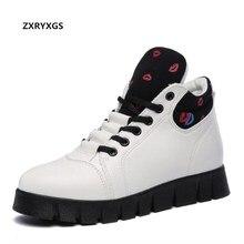a1356047 Venta caliente Otoño Invierno Mujer Zapatos ocio edición de Corea moda  casual plus velvet nieve mujeres
