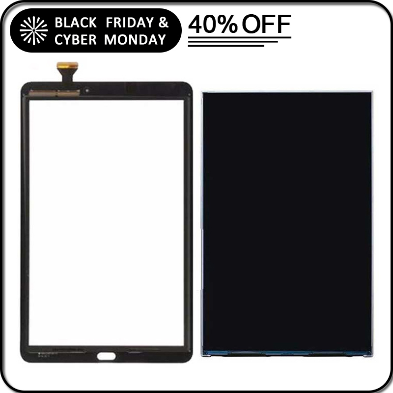 "Galaxy Tab E 9.6/"" SM-T560NU T561 Touch Screen  Glass Panel Digitizer Black White"