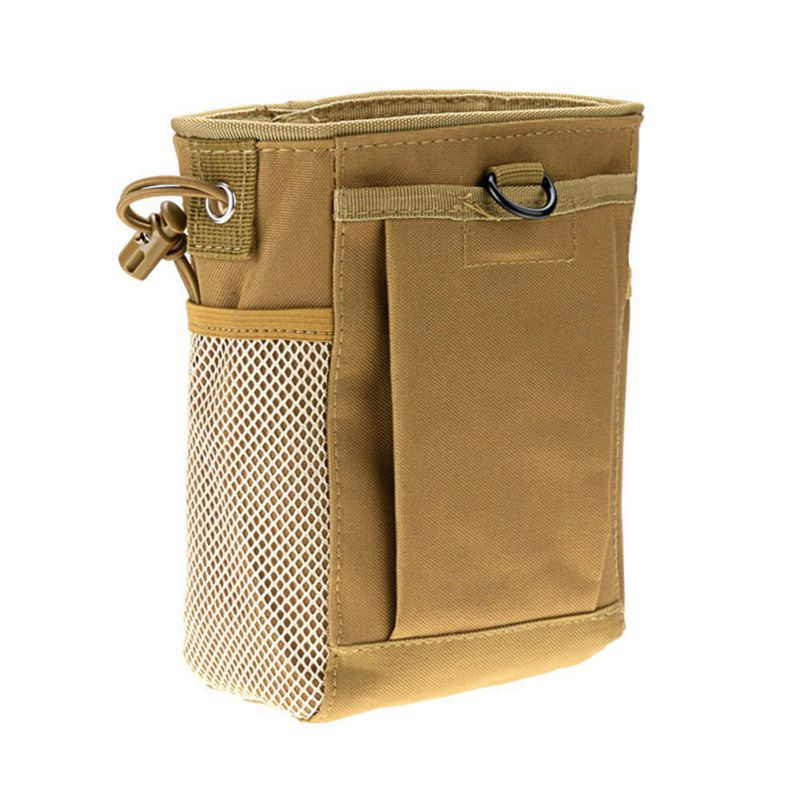Pouch Bag Airsoft Military Storage Bag Molle Belt Dump Drop Drawstring Bag DH