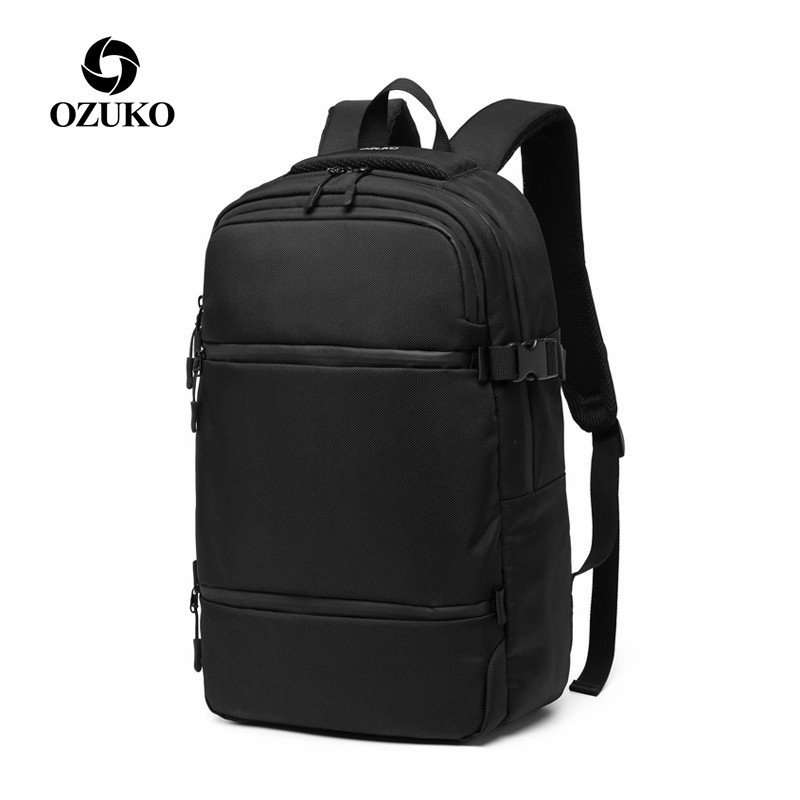 OZUKO New Casual Men's Backpack For Teenager 15.6 Inch Laptop Backpacks Male Fashion Schoolbag Bagpack Men Travel Bags Mochilas