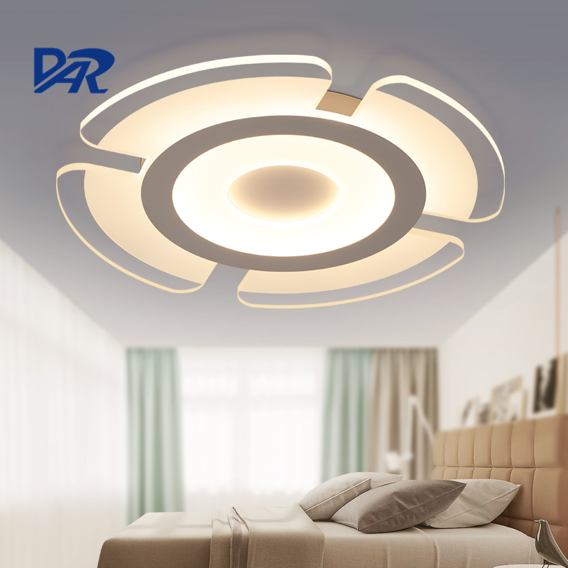 Minimalist Modern Led Ceiling Chandelier Lights For Living Room Bedroom AC 85-265V Home Decorative Acrylic Chandelier Lamp New led circular ceiling lamps chinese real wood art acrylic modern minimalist bedroom study decorated living room ceiling lights za