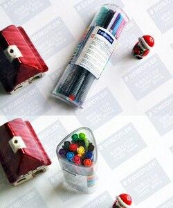 Image 3 - LifeMaster Staedtler Triplus Fineliner 334 PR12 12 разноцветная ручка для рисования 0,3 мм Художественный набор для дизайна