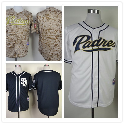 reputable site 50f00 235b4 Men's Cheap San Diego Padres MLB Blank cool base Throwback ...