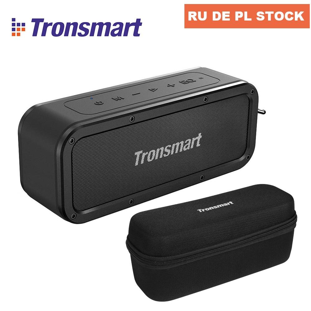 [IN STOCK] Tronsmart Element Force TWS NFC Portable Bluetooth Speaker 40W 15 Hours Playtime Outdoor Portable Mini Speaker