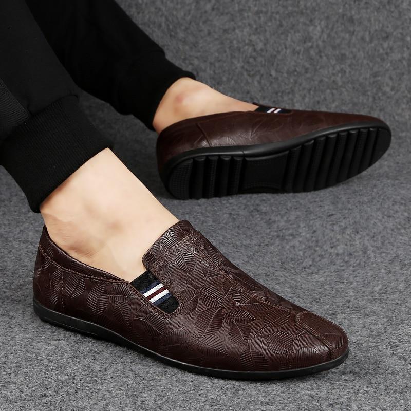 NORTHMARCH Nieuwe Lederen Mannen Schoenen Mode Mannen Casual Schoenen Instappers Mocassim Masculino Driving Heren Zapatos Hombres - 2