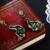 DC1989 estilo Al Por Mayor de Envío Verde Gota de piedra Negro Oro Blanco Plateado AAA Cubic Zirconia pendientes de Gota de Cobre para las mujeres ZE52784