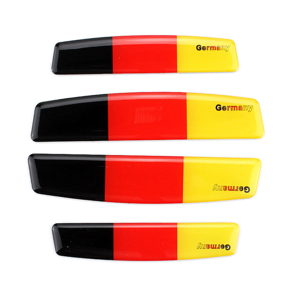 Car Sticker Door Bumper Strip Germany Flag Logo for VW Golf Opel Corsa Skoda Octavia Audi RS3 Car Decoration