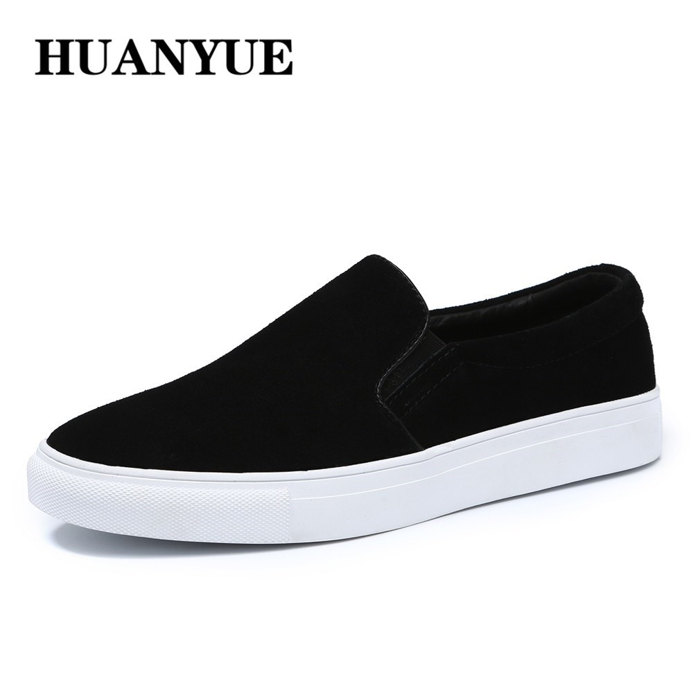 2018 New Autumn Men Loafers Shoes Moccasins Suede Genuine Leather Shoes Slip On Men Flats Casual Shoes Big size Sneakers 38-48 цена 2017