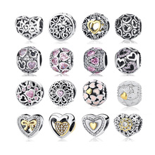 2016 New 100% 925 Sterling Silver Abundance Of Love Charm Beads Fit Original Pandora Bracelet Bangle Authentic Jewelry Gift