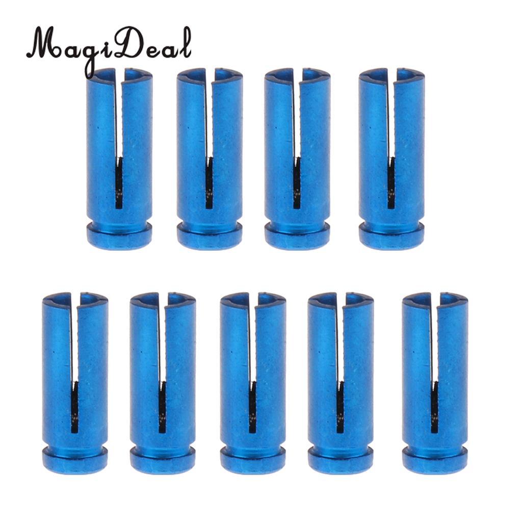 MagiDeal 9 шт. алюминия полета протекторы заставки Дарт аксессуар Универсальный Синий