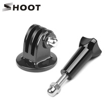 SHOOT Tripod Mount Adapter Stand and Screw for GoPro Hero 6 5 3 4 Black Session
