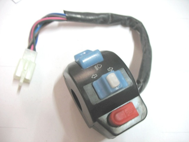 Left Side horn Switch Turn Signal Control For GY6 Keeway QJ Chinese Motorcycle Scooter Honda Yamaha ATV Moped
