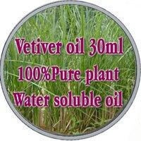 Atacado!! cuidados com a pele óleo de compras Grátis 100% vegetal puro óleo de vetiver água óleos essenciais solúveis 30 ml Aromaterapia banho dedicado