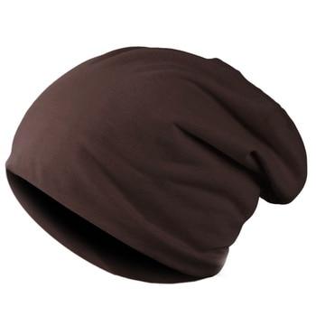 Spring Women Men Unisex Knitted Winter Cap Casual Beanies Solid Color Hip-hop Snap Slouch Skullies Bonnet beanie Hat Gorro