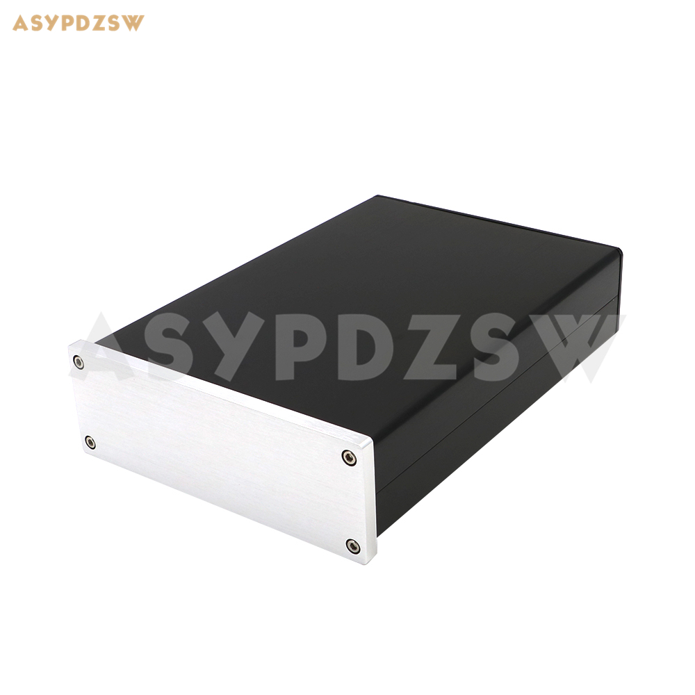 1706 Full aluminum AMP enclosure Preamp case Linear power supply chassis DAC/PSU box new listing wa26 full aluminum enclosure amp case preamp box psu chassis