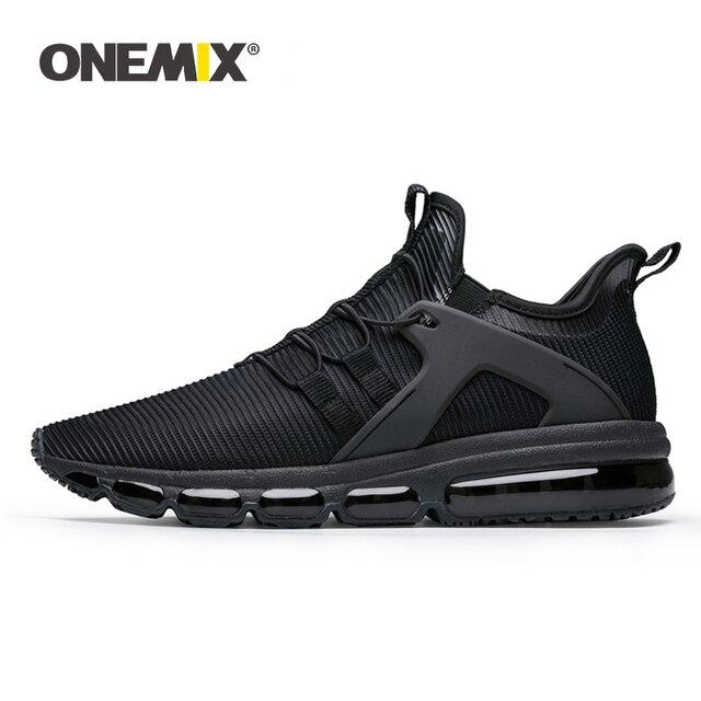 9fd4e4594 ONEMIX sapatos de corrida dos homens calçados esportivos tênis de corrida  ao ar livre meia-sapatos almofada de amortecimento tênis para caminhada  tamanho ...