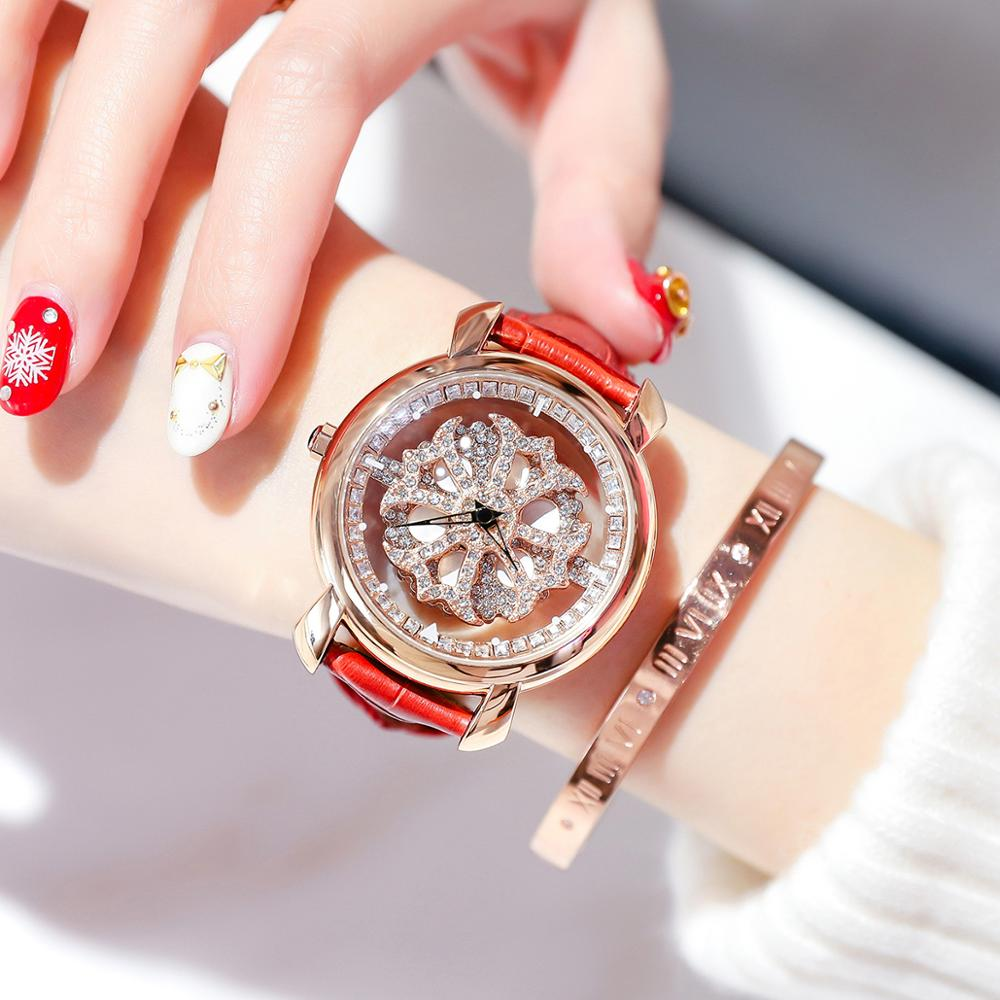 Women wrisewatch luxury brand magnetic stainless steel clock Quartz rotary watches new fashion ladies waterproof watch hot sealsWomen wrisewatch luxury brand magnetic stainless steel clock Quartz rotary watches new fashion ladies waterproof watch hot seals