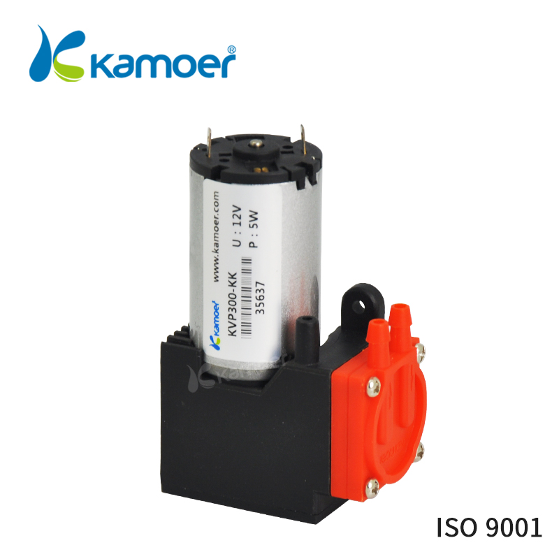 Kamoer KVP300 micro diaphragm vacuum pump with DC motor mini air pump 12V/24V with high nagative pressure/Vacuum degree kamoer kvp8 24v mini vacuum pump brushless micro diaphragm pump electric air pump with high nagative pressure vacuum degree