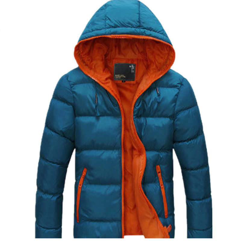Aliexpress.com  Buy Warm Winter Jacket Men Outerwear Coat Hoodie 2016 Stylish Design Solid ...