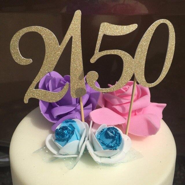 Spersonalizowane Szczęśliwy 21tst 50th 30th 40th Anniversary Party