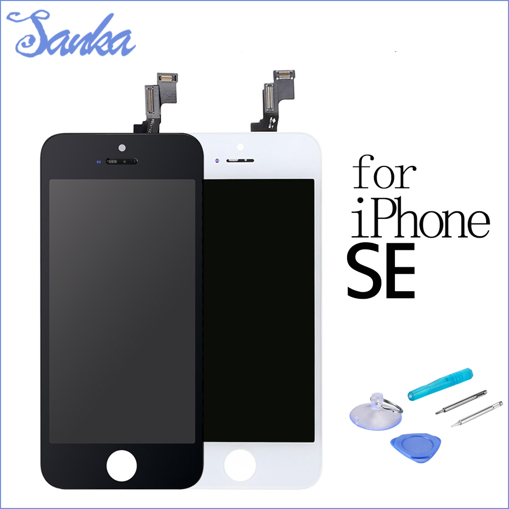 SANKA Para For Apple iPhone SE LCD Display Digitizer Touch Screen Ecran Pantalla Assembly LCD Screen Mobile Phone Parts & Tools