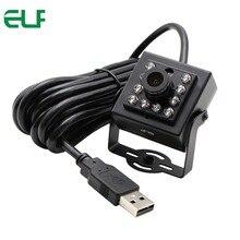 Elp 2mp Sony imx322 ИК Ночное Видение видеонаблюдения CCTV видео камера Cam OTG UVC H.264 30fps Mini-USB Камера 1080 P