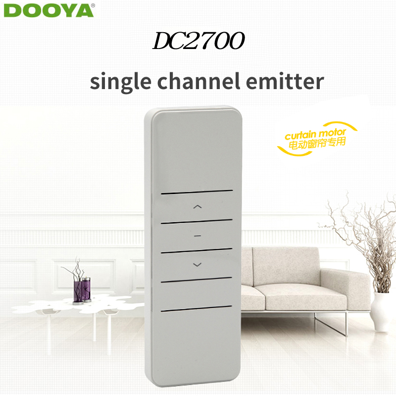 Dooya Sunfloer Smart Home Electric Curtain Motor Remote Controller DC2700 Single -channel Emitter