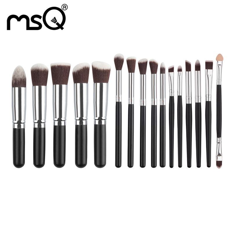 Makeup Brush Set Professional Kit Makeup Brush Wood Handle 16PCs Cosmetics Tools For Makeup Soft Synthetic Hair Brushes Sets Hot 147 pcs portable professional watch repair tool kit set solid hammer spring bar remover watchmaker tools watch adjustment
