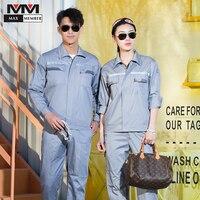 Workshop Uniform Work Safety Clothing Summer Jardineira Reflective Safety Set Coveralls Wearable Mens Auto Repair Gardner