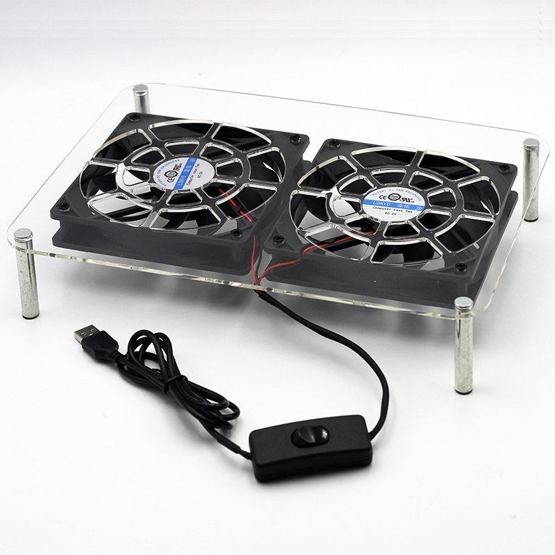 DC 5V USB 120*120*25mm Laptop Pads holder Wireless router set-top TV box stands Cooler Cooling Fan heatsink bracket