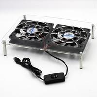 DC 5V USB 120*120*25mm Laptop Pads holder Wireless router set top TV box stands Cooler Cooling Fan heatsink bracket
