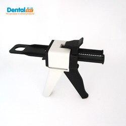 جديد الأسنان معدات سيليكون المطاط الانطباع خلط الصيدلي الاستغناء بندقية ab بندقية 1:1 1:2 السد 50 ملليلتر طبيب المنتج
