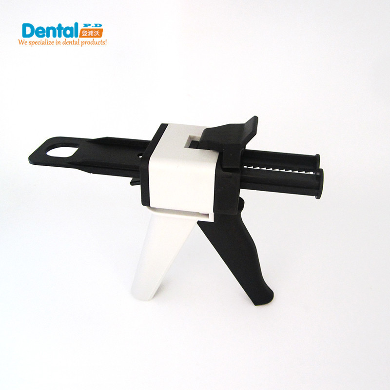 Nya Dental Equipment Silikon Gummi Impression Mixing Dispensing Gun AB Gun 1: 1 och 1: 2 Caulking 50ml tandläkare produkt