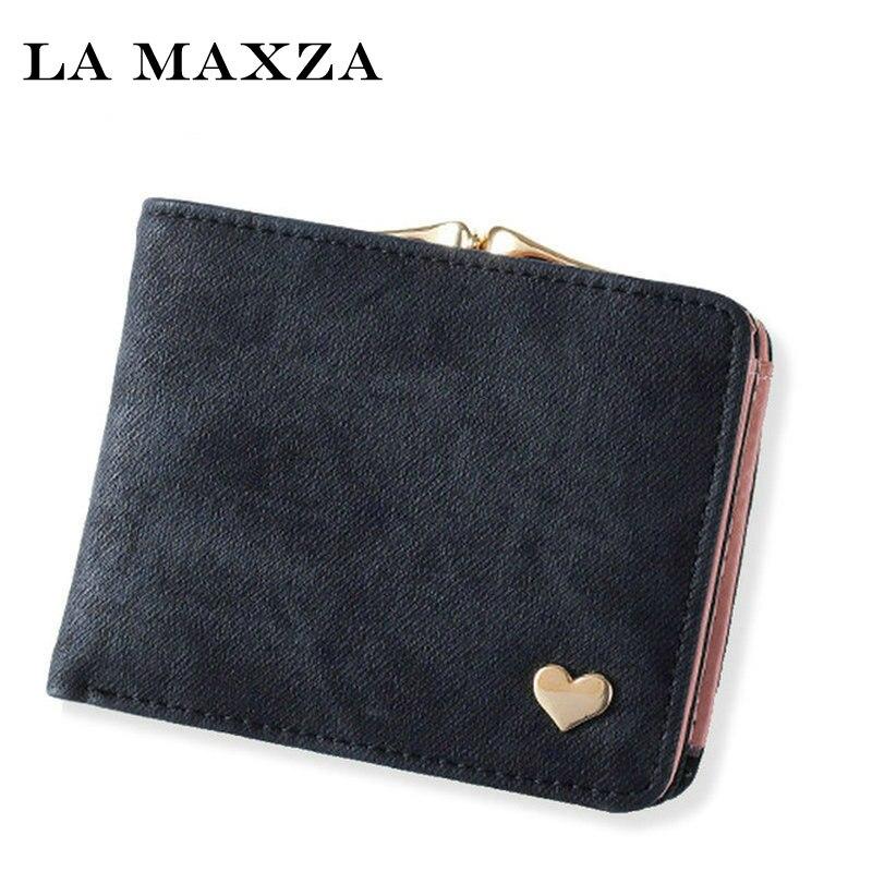 Neue Frau Brieftasche Kleine Haspe Geldbörse Für Frauen Luxus Leder Weiblichen Brieftaschen Mini Dame Geldbörsen Clutch Kartenhalter N1813