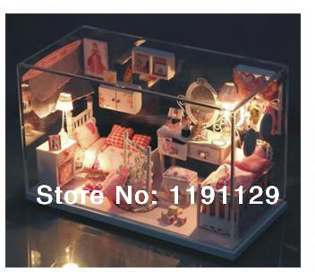Charming Doll House 3D Puzzles Dream House Valentineu0027s Day Gift Birthday Gift  Handmade DIY Toys