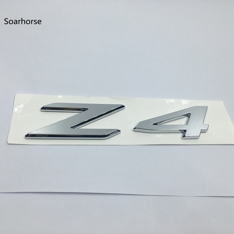 NEW For BMW F30 3-Series High Quality Rear Trunk Emblem Decal Badge M320d Silver