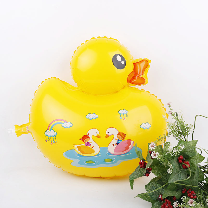 Large Yellow Ducks Balloon 10pcs Baby Shower Birthday Party Supplies Globos Kids Love Toys Gift Home Swimming Pool Decoration