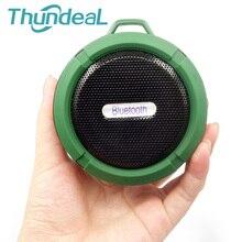 Спортивные C6 Портативный Беспроводной Bluetooth Динамик с наружной вызовы SD карты присоски Водонепроницаемый душ плеера для телефона