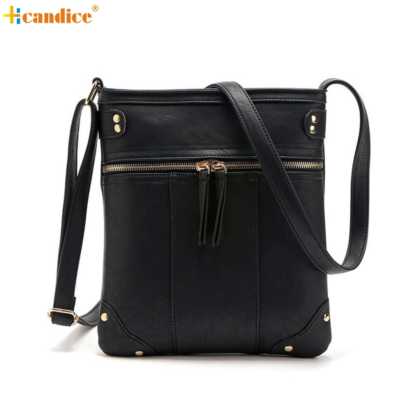 Naivety 2016 New Fashion Womens Handbag PU Leather Satchel Lady Cross Body Shoulder Messenger Bag JUL13 drop shipping naivety new fashion women tassel clutch purse bag pu leather handbag evening party satchel s61222 drop shipping