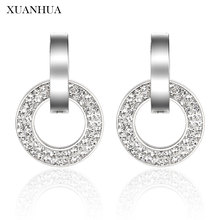 XUANHUA Personalized Stud Earrings Stainless Steel Jewelry W