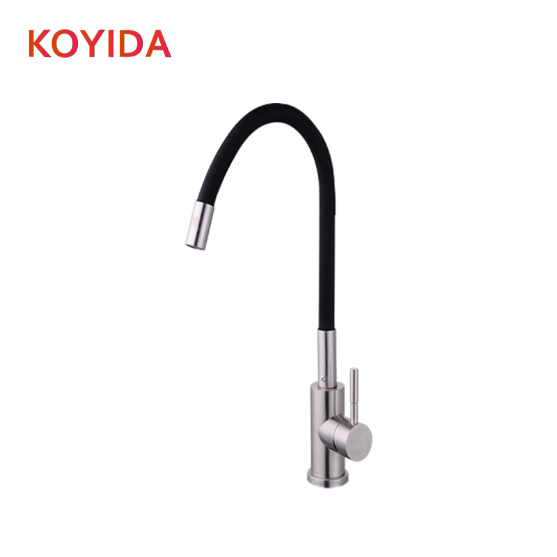 KOYIDA kitchen faucet Stainless steel single cold water faucet Single Handle sink faucet kitchen tap torneira cozinha robinet jooe kitchen faucet chrome single cold water tap deck mounted kitchen sink faucet torneira de cozinha robinet cuisine banheiro