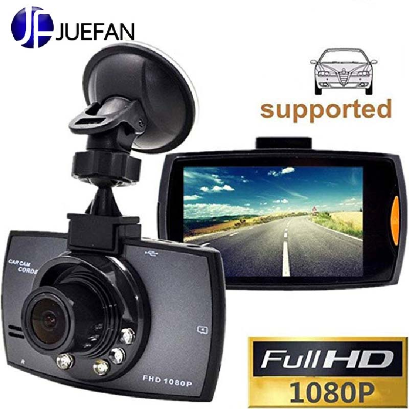 JUEFAN Car DVR Camera Driving-Recorder Dash-Cam Video Night-Vision Vehicle 1080P IR HD