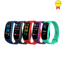 Smart wristband Sports Fitness tracker Heart Rate Blood pressure Monitor Call Reminder Waterproof SmartBand vs mi M2 M3/M3 Plus