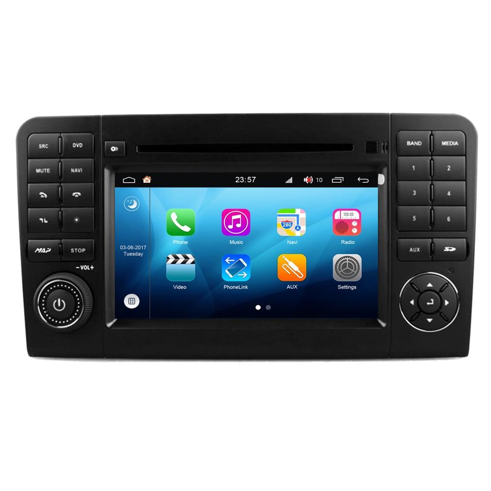 RoverOne Android 8.0 Carro Sistema de Navegação Multimídia Player Para Mercedes Benz W164 ML300 ML320 ML350 ML430 ML450 ML500 ML550